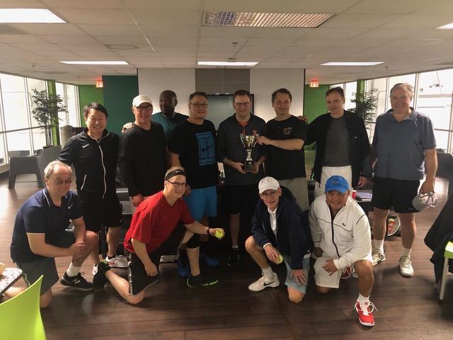 2019 NCM 4.0 Mens Doubles Champions