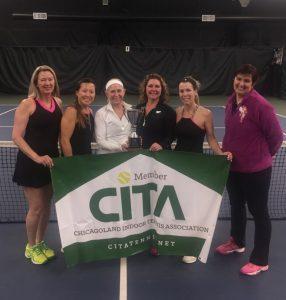 MTP1 - L-R:  Karen Johnstone, Ki Kellen, Kelly Thut (Captain), Erica Donofrio, Cynthia DeStefano, Krisztina Anderko (Coach)